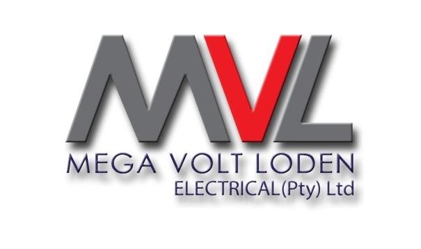 Mega Volt Loden Electrical Logo